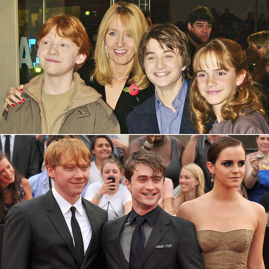 Harry Potter Cast Then and Now