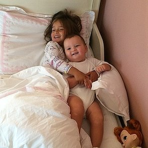 Joseph-Kushner-enjoyed-morning-snuggle-his-big-sister-Arabella