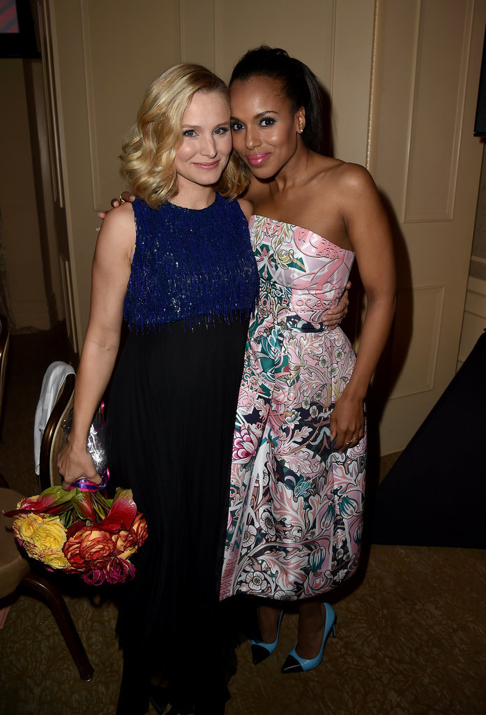 Kristen Bell and Kerry Washington