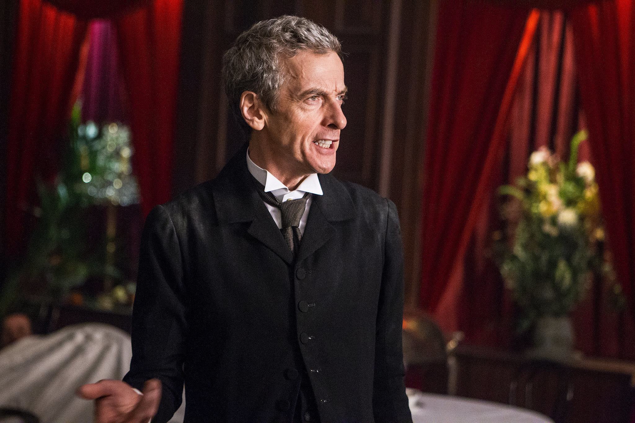 Doctor Who Is Prim and Proper in New Season 8 Pictures