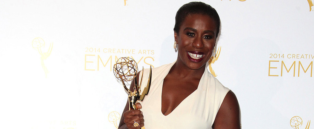 Uzo Aduba Ditches the Crazy Eyes For Red Carpet Glamour