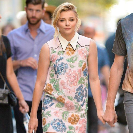 Chloë Grace Moretz Wearing a Dress | Street Style