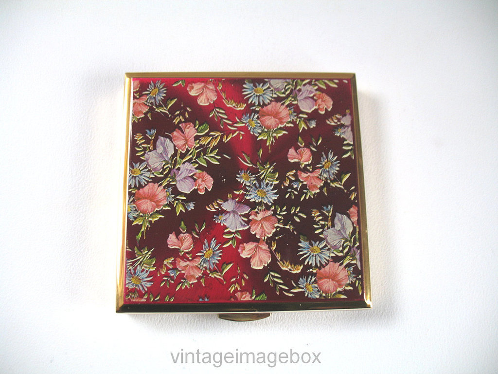 1950s Face Powder Compact