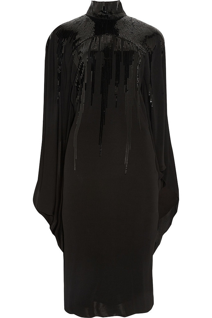 Roberto Cavalli Sequined Jersey-Crepe Dress