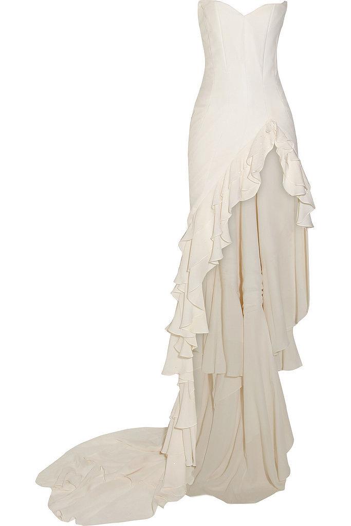 Maria Grachvogel Satin-Crepe Gown