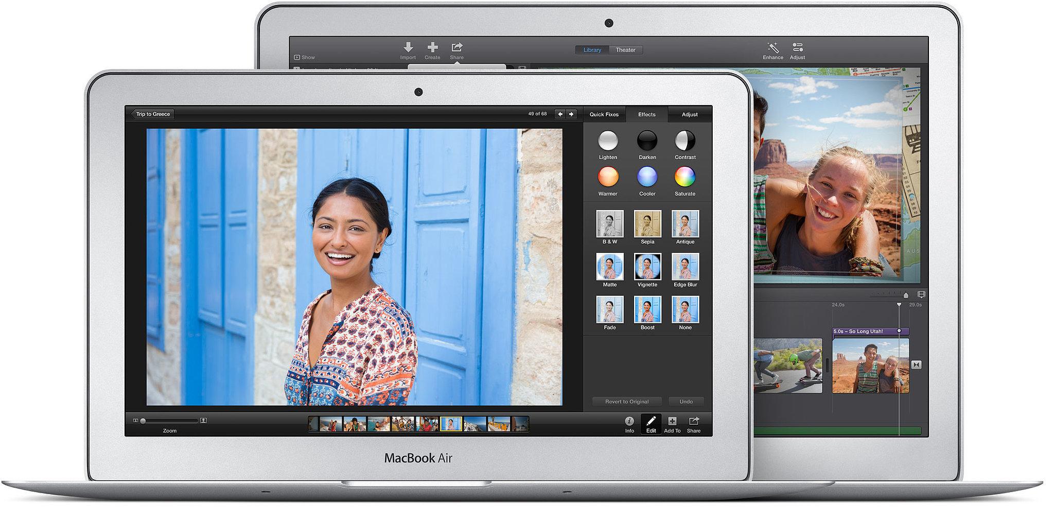 First, the MacBook Air