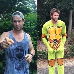 Chris, Luke and Liam Hemsworth ALS Ice Bucket Challenge