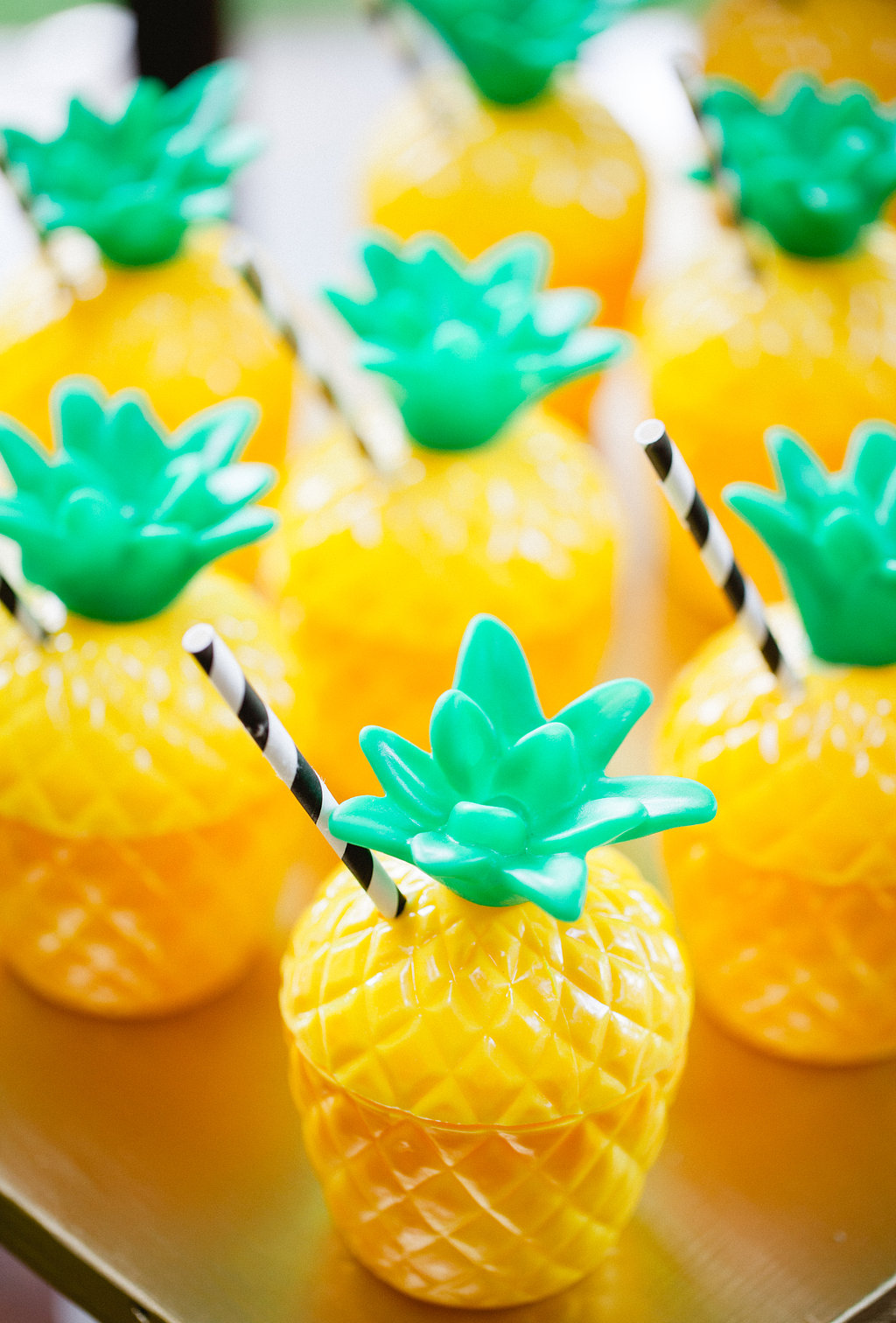 Pineapple Sippy Cups