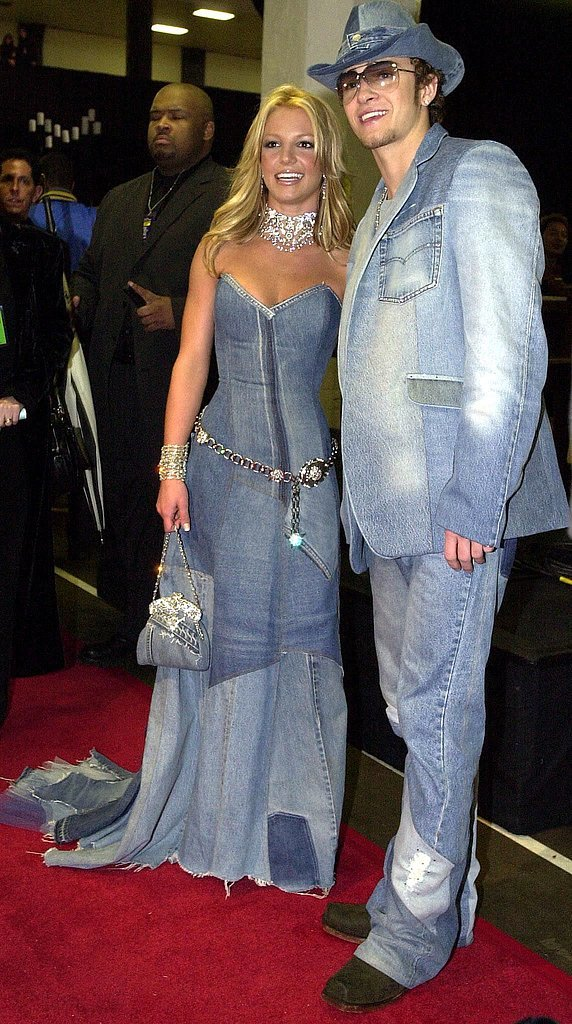 Britney and Justin at the 2001 American Music Awards.