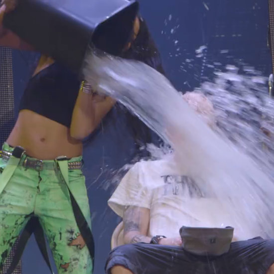 Rihanna and Eminem's Ice Bucket Challenge Video