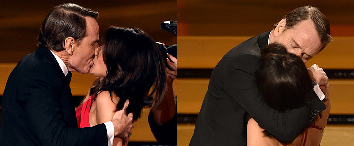 Julia Louis-Dreyfus and Bryan Cranston Fully Made Out at the Emmys