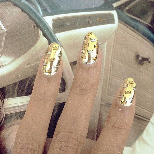 Classy, Cosmopolitan Nail Art