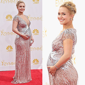 Hayden Panettiere in Silver Lorena Sarbu at the Emmy Awards