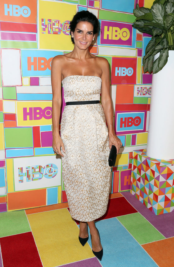 Angie Harmon at the HBO Emmys Afterparty