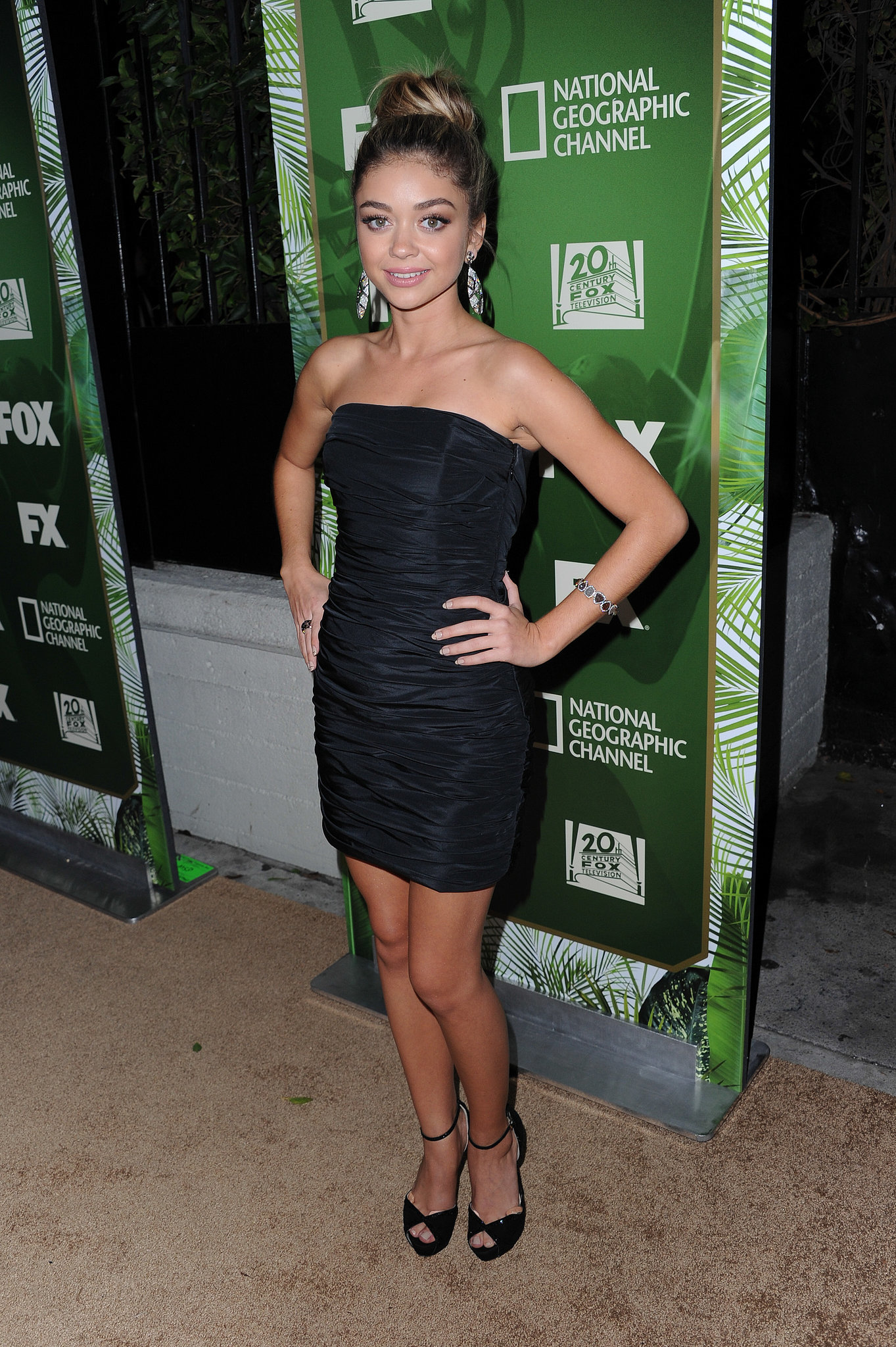 Sarah Hyland at the Fox Emmys Afterparty