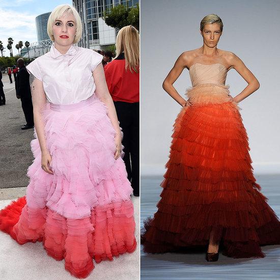 Did Lena Dunham's Emmys Dress Look Familiar?
