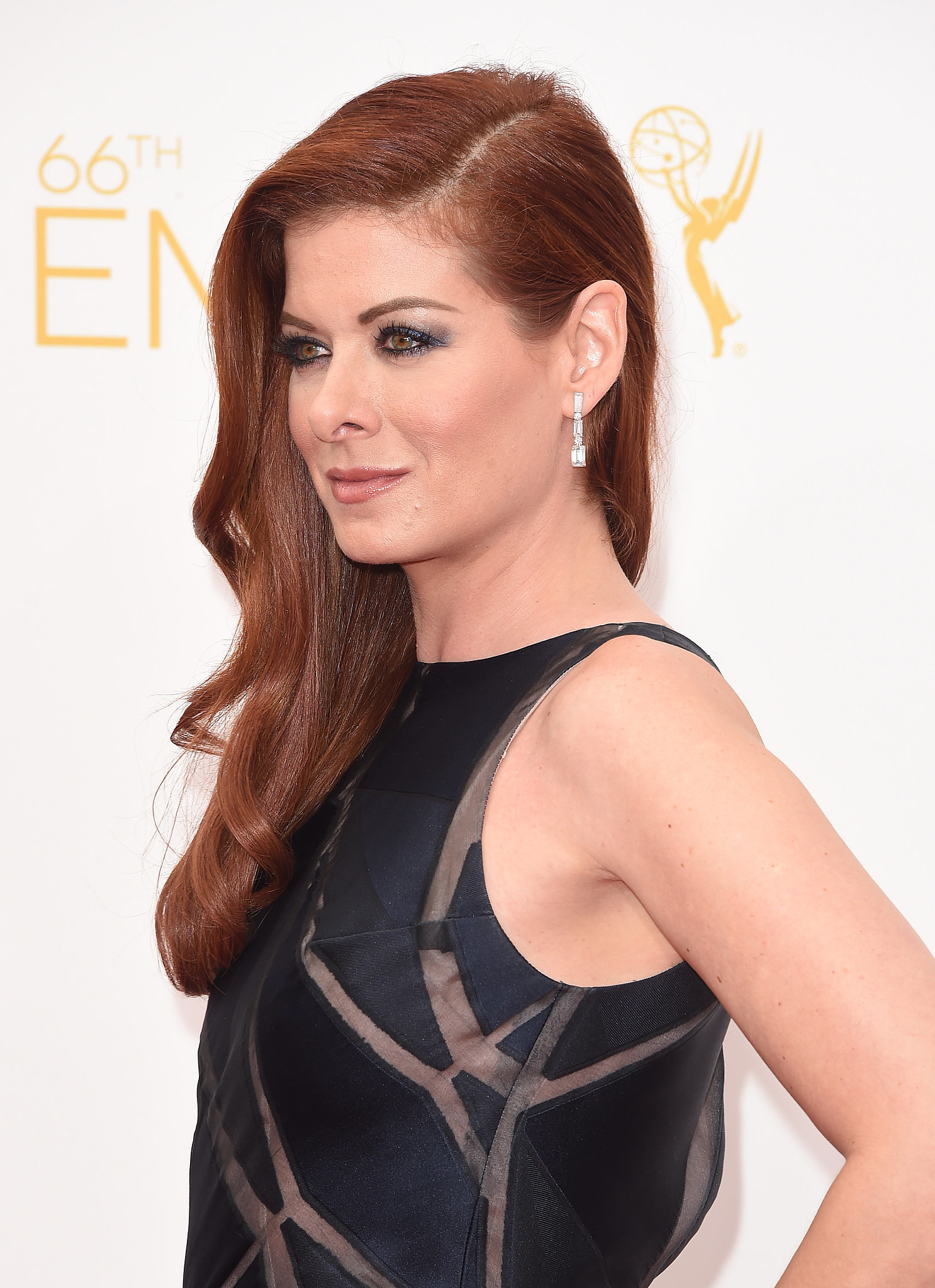 Debra Messing in Chopard Jewelry
