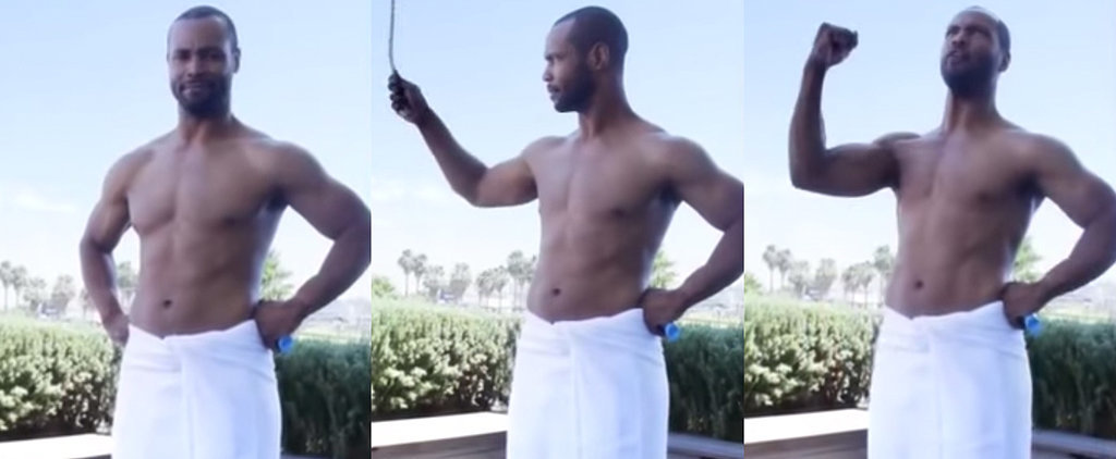 The Old Spice Guy Didn't Really Do the Ice Bucket Challenge, but It Was Still Amazing