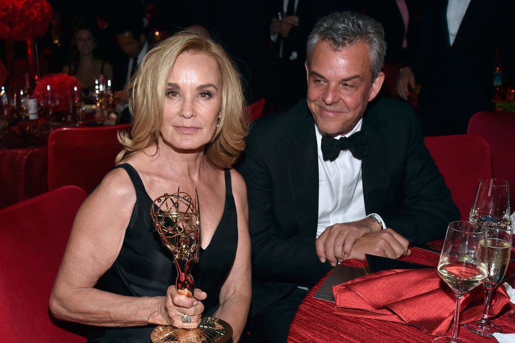 Remember in American Horror Story: Coven when the Axeman fell in love with Fiona Goode? Well, it looks like John Huston, the actor who played him, is just as taken with Jessica Lange.