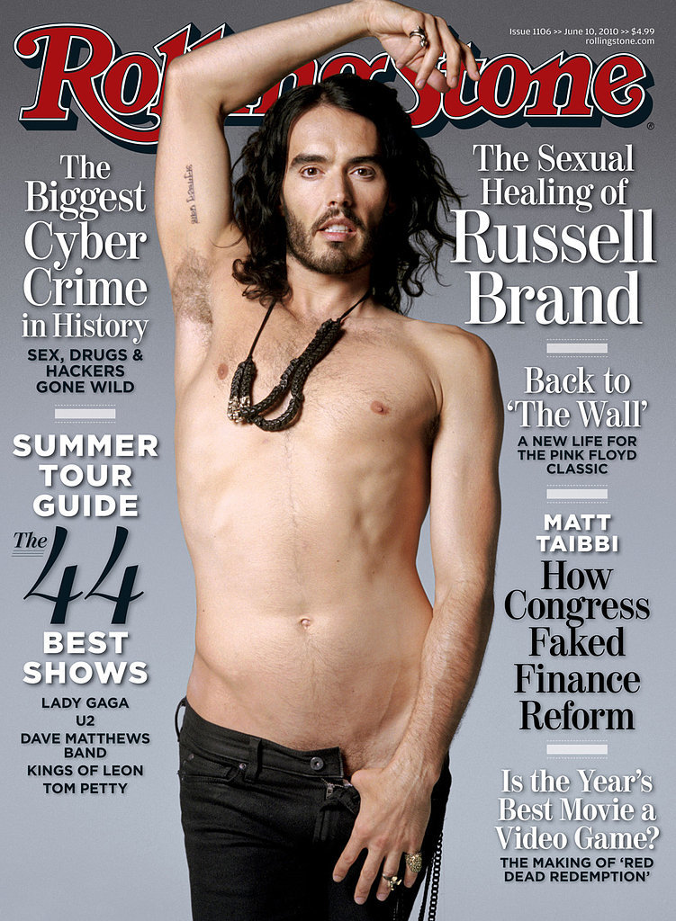 Russell Brand For Rolling Stone, June 2010