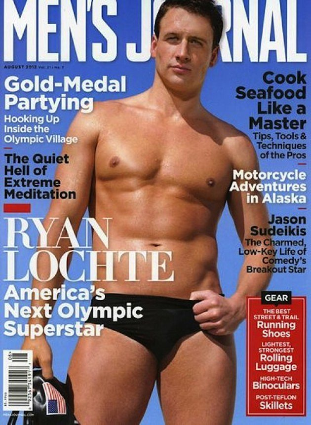 Ryan Lochte For Men's Journal, August 2012