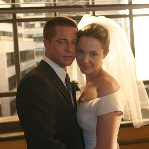 Brad Pitt and Angelina Jolie Wedding | Mr. and Mrs. Smith