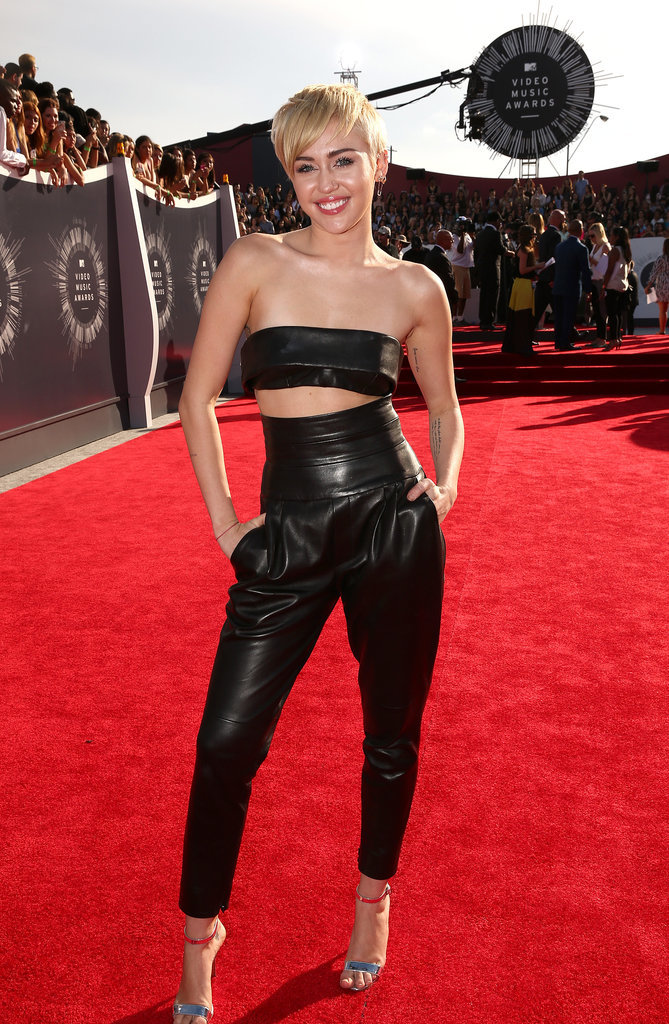 Miley Cyrus at the VMAs