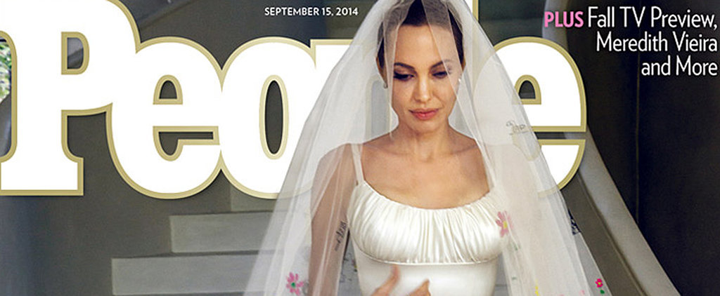 See Angelina Jolie and Brad Pitt's Wedding Pictures!