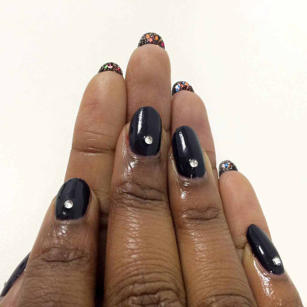 Try This Reverse Nail Art For a Double-Take Manicure