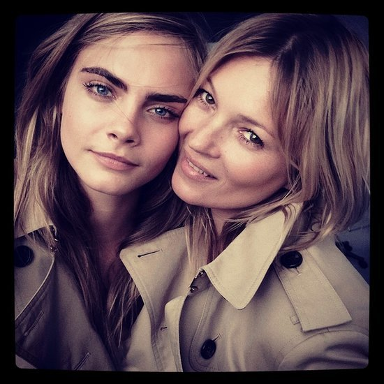 My Burberry Kate Moss Cara Delevingne Behind the Scenes