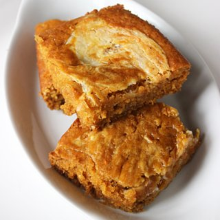 Healthy Dessert: Pumpkin-Carrot Bars With Cream Cheese