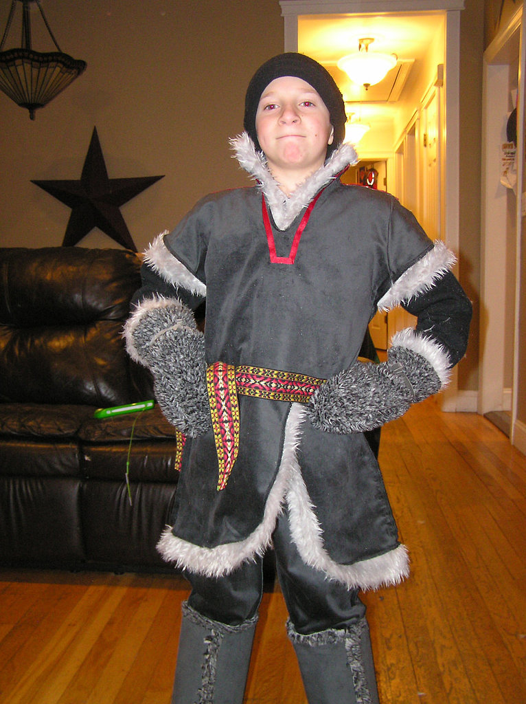 This handmade Kristoff costume ($325) includes every detail of the outfit, from specially made boots to movie-accurate mittens.