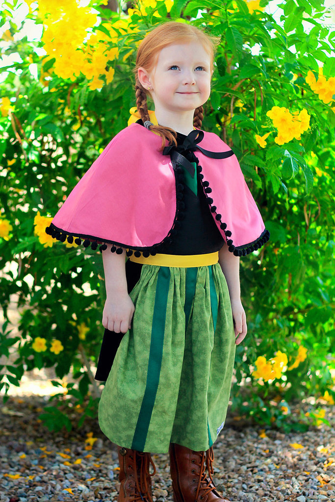 You'd never guess that this sweet Princess Anna costume is partially made up of a children's apron ($28)! Simply pair with boots, braids, and a cape to create the perfect princess getup.