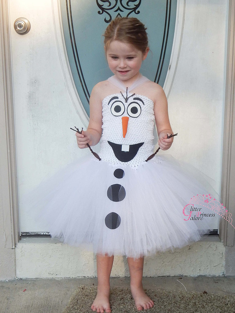 If you get jealous of your daughter's adorable Olaf costume ($32), remember that it comes in adult sizes, too!
