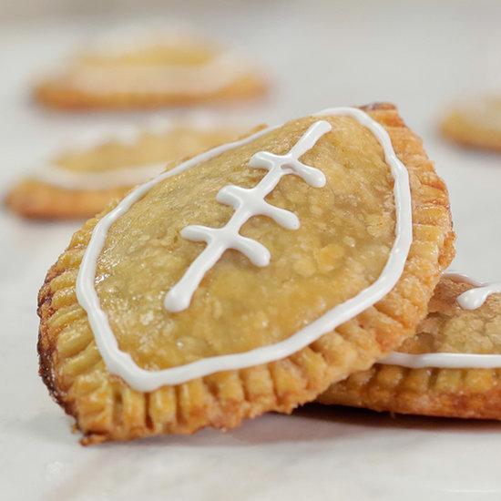 Pumpkin Football Hand Pies