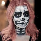 Skeleton Halloween Makeup | Tutorial
