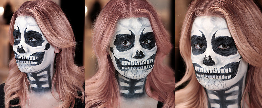You Go, Ghoul! This Skull Tutorial Requires Just 3 Products