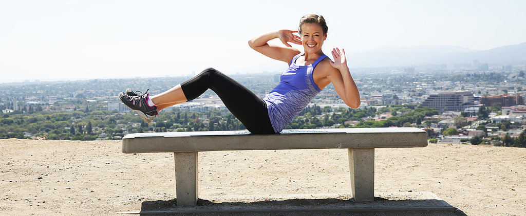 Burn It Up With This Bodyweight Workout on a Bench