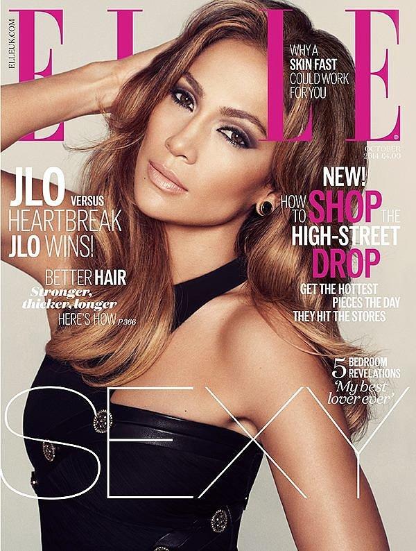 Elle UK October 2014
