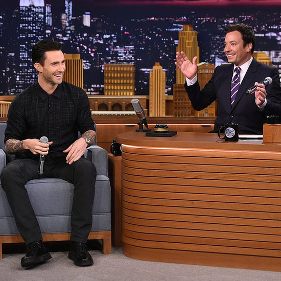 Adam Levine, Jimmy Fallone Play Wheel of Musical Impressions