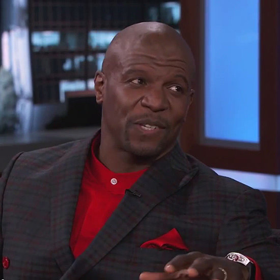 Terry Crews's Paintings on Jimmy Kimmel Live | Video