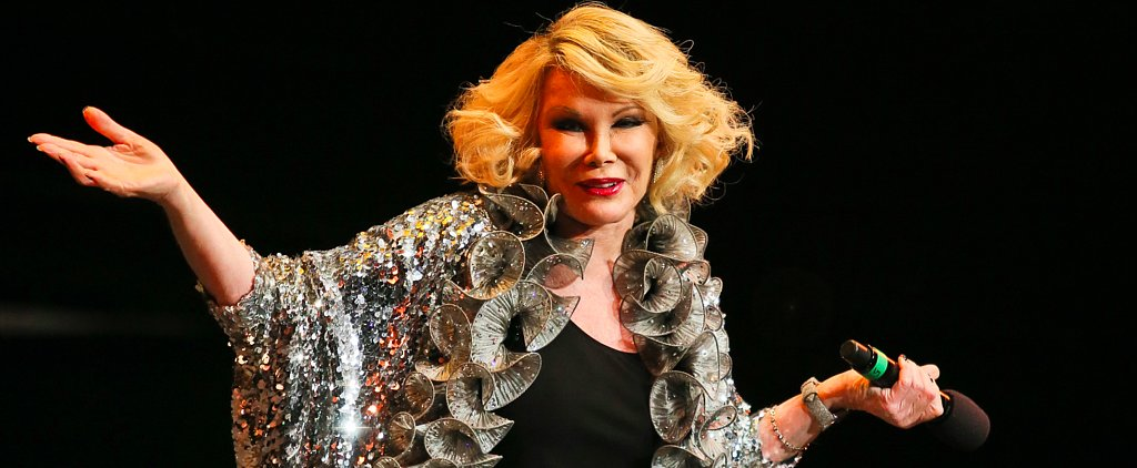 Watch Joan Rivers's Best Sketch About Childbirth