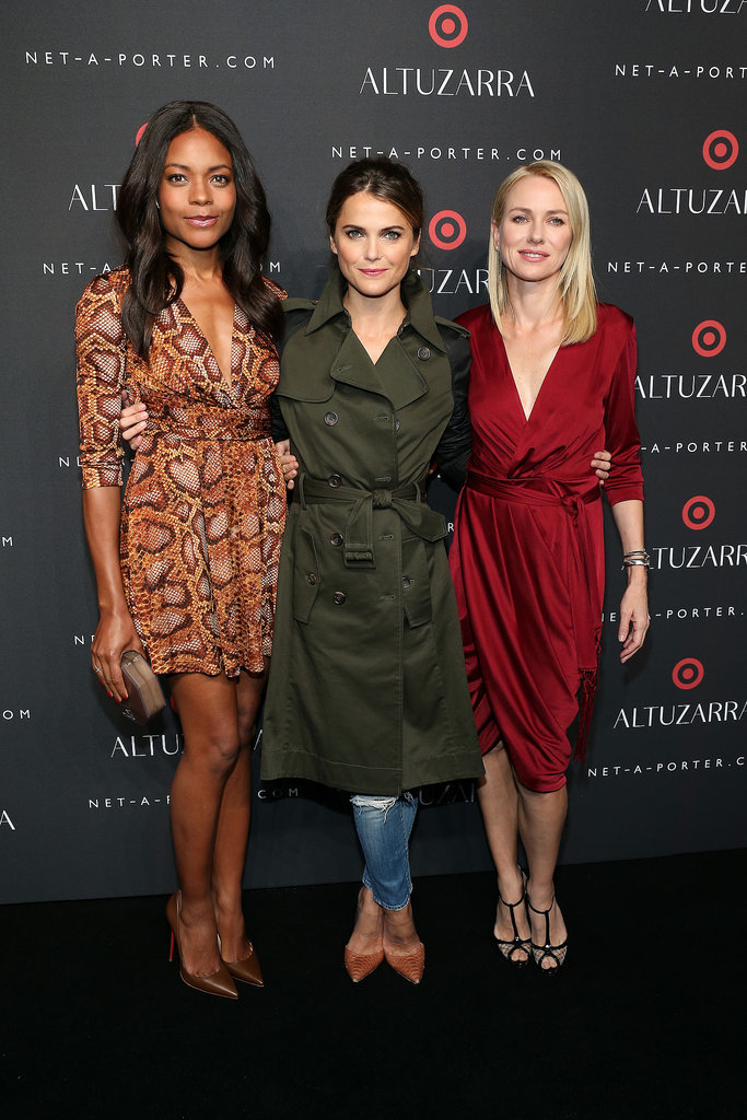 Naomie Harris, Keri Russell, and Naomi Watts stunned at the Altuzarra for Target launch event in NYC on Thursday, and there are a lot more fun New York Fashion Week moments where that came from.