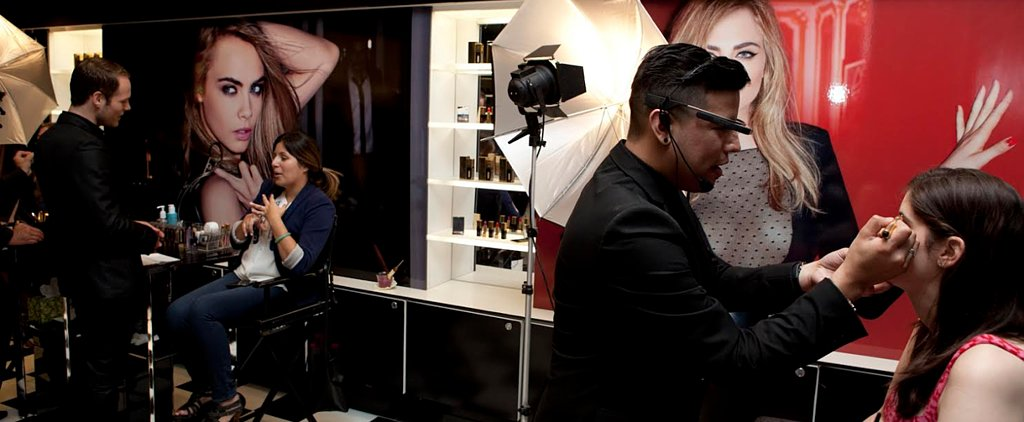 Guess How Google Glass Is Being Used at Makeup Counters