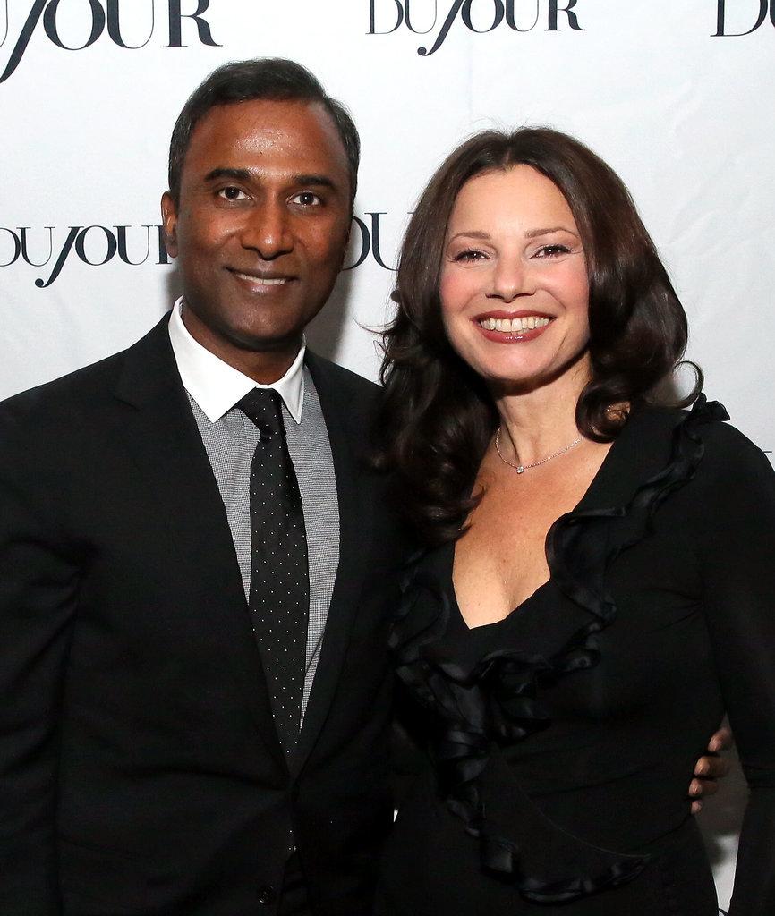 Fran Drescher and Shiva Ayyadurai