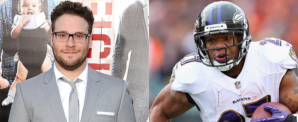Seth Rogen Slams the NFL Over Ray Rice's Lenient Punishment