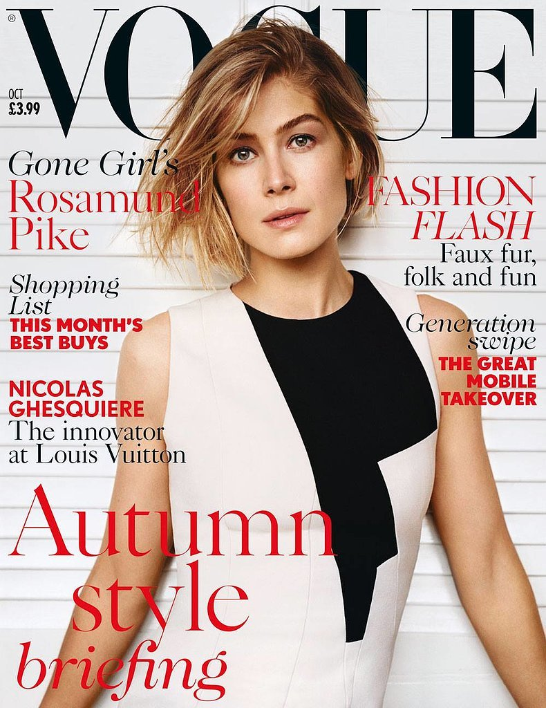 British Vogue October 2014