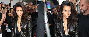 Kim Kardashian Brings Her Famous Cleavage to Melbourne