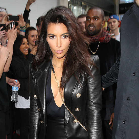 Kim Kardashian and Kanye West Pictures in Melbourne