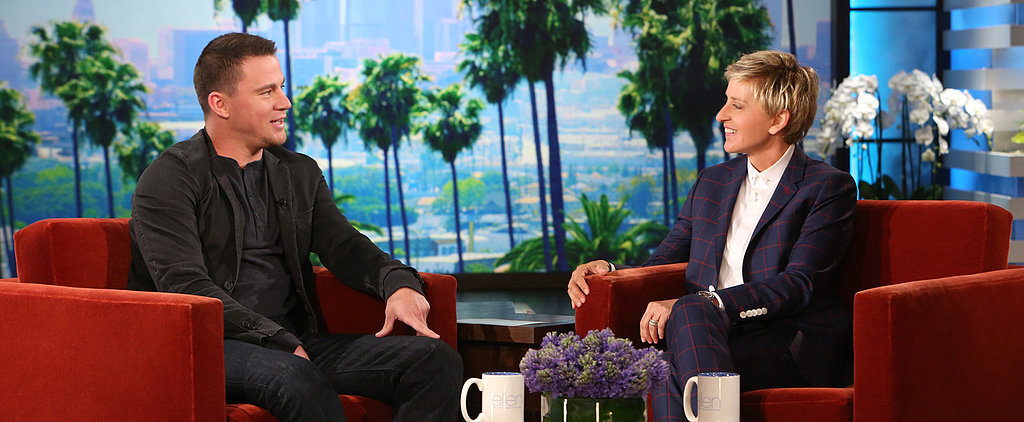 "Channing Tatum on Zac Efron: ""I Want to See That Guy Naked!"""